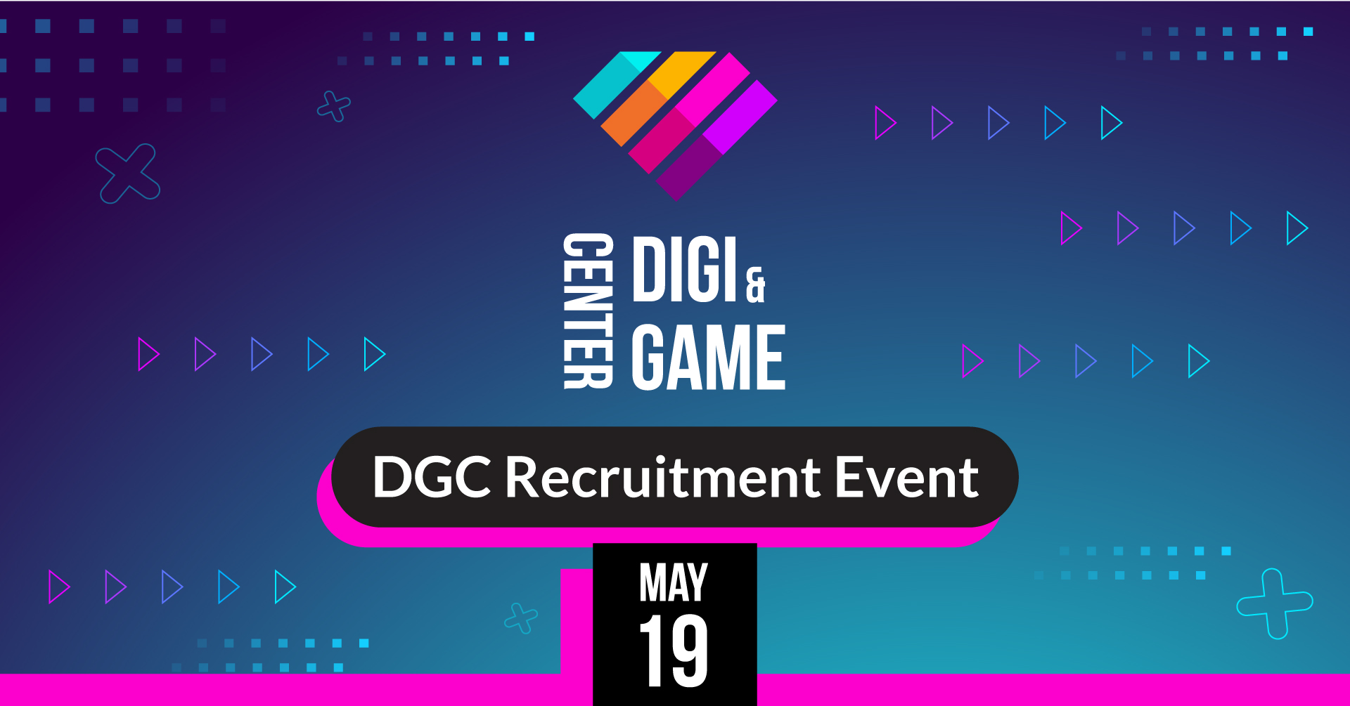DGC Recruitment Event banner