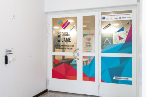 Picture of Digi&Game Center premises. Photo by: Anna Ruotanen Photography